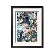 Ultimate Marvel vs Capcom 3 Street Fighter Art Poster Print