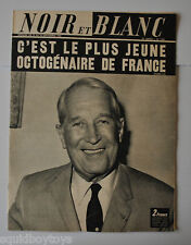 NOIR et BLANC No.1224 French Magazine 1968 MAURICE CHEVALIER / JANE FONDA