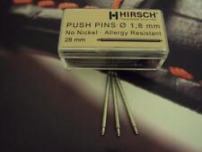 Hirsch ** 2 X 28MM HIRSCH STAINLESS STEEL SPRING BARS **