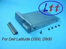 DELL Latitude D500, D600 Festplattenrahmen HD Caddy + Adapter + Schrauben
