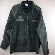 Tru-Spec Tactical Men's XL Fleece Full Zip Army Green Fleece Sherpa Jacket