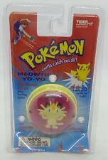 Vintage Pokémon Meowth Electronic Yo-Yo Lights & Sounds Tiger Nintendo NEW