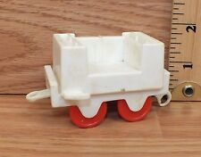 *Replacement* Unbranded White Plastic Train Car Piece / Toy Only **READ**