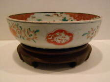 1850 A.D. Japanese Imari Bowl With Stand