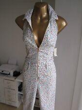 Guess BNWT NEW Cream Floral Size 6 Denim Look Top ASOS Shop Maxi Dress Jumpsuit