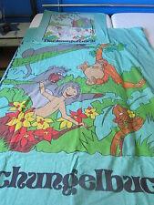 2 tlg Kinderbettwäsche Disney Dschungelbuch grün Mogli Winter Kinder Bettwäsche