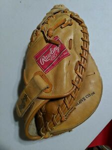 "RAWLINGS RCM33 Leather Baseball Catcher's Mitt Player Preferred Series RHT 11.5"""