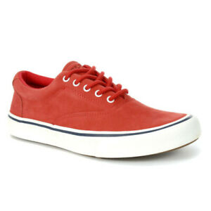 NEW Sperry Top-Sider Men's Striper 2 CVO Washable Red Sneakers STS21003 SIZE 11