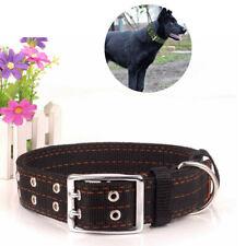 Heavy Duty Large Dog Adjustable Collar Neck Buckl Large Breed Nylon Collars XL L