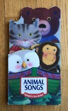 Animal Songs Oversize Tracey Moroney Board Book Cat Bear Monkey Owl