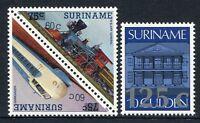 Surinam 1988 Eisenbahn Trains Railways Architektur 1258-1260 Postfrisch MNH