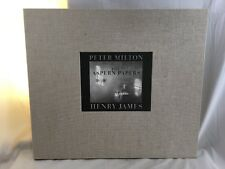 "Orig. 1993 signed Peter Milton The Aspern Papers Portfolio ""Garden with Henry"""