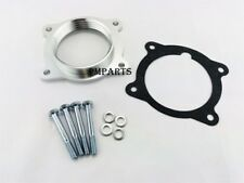 Silver Billet Throttle Body Spacer fit 08-13 Buick Enclave Cadillac CTS 3.0L 3.6