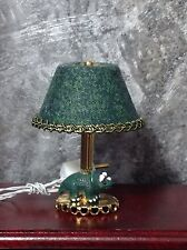 """On Sale 1:12"""" Scale Dollhouse Miniature Working Lamp - Triceratops"""