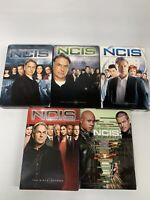 Lot of 5 NCIS TV Show DVDs Complete Seasons 2 4 5 6 NCIS LOS ANGELES 6 CBS