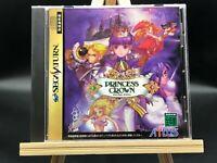Princess Crown (Sega Saturn,1997) from Japan