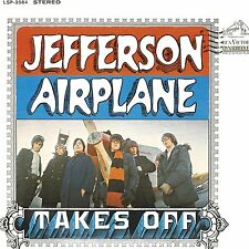 Jefferson Airplane - Takes Off 180g vinyl LP NEW/SEALED Surrealistic Pillow