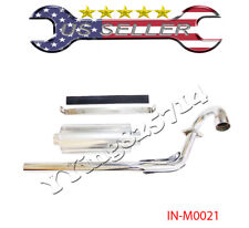 HONDA XR CRF 50 Muffler Exhaust Pipe Assembly Chinese Pit Bike 70 110 125CC