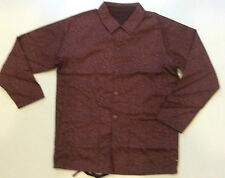Trippy Trail Reversible Jacket Grizzly Diamond Small animal print brown msrp$140