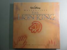 Disney's The Lion King Deluxe CAV Letterbox Edition Boxed Set incl. all extras.