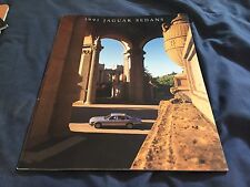 1991 Jaguar XJ Vanden Plas USA Market Color Brochure Catalog Prospekt
