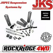 "JSPEC 2.5"" SUSPENSION LIFT SYSTEM FOR 2007-2017 JEEP WRANGLER JK 4 DOOR 102K"