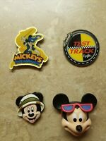 4 Disney Magnets Mickey Mouse Philharmagic Test Track Epcot Lot