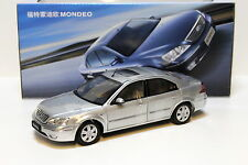 1:18 CHANGAN Ford Mondeo Sedan 2004 silver DEALER NEW bei PREMIUM-MODELCARS