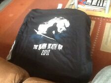 The Black Death Run 2011 T Shirt Size Medium