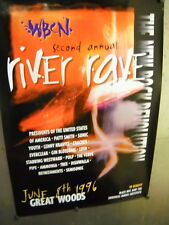1996 Boston Festival PROMO POSTER Gin Blossoms REFRESHMENTS Tree DISHWALLA Lush