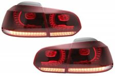 Coppia Fari Fanali Posteriori Tuning Golf VI 6 GTI Look 08-12 ROSSI FULL LED