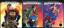 Superman Year One (2019) #1 2 3 VF/NM complete set DC Black Label Frank Miller