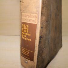 Cat Caterpillar G379 G398 G399 Ng Natural Gas Engine Repair Shop Service Manual