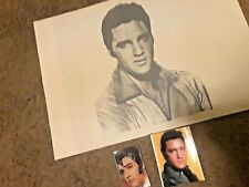 ELVIS PRESLEY SCARF and RARE WITH PHOTOS. gorgeous  1970s
