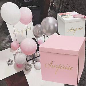 D.I.Y Surprise Balloon Box Gift Box Wedding Box (Box only) 50cm