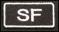 SPECIAL FORCES Iron On Patch SF SOCOM Green Baret for T-Shirt Cap Uniform 25P