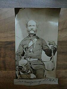 1860/70s CDV Sized Photo  J. Montgomery S.I.R.I.C Royal Irish Constabulary
