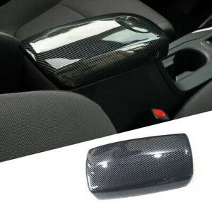 Carbon Fiber Interior Armrest Box Decor Cover Trim Fit For Toyota Corolla 2020