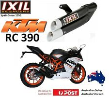KTM RC390 2017-2018 IXIL L3X BLACK slip-on System exhaust