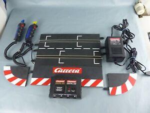CARRERA DIGITAL 124 132 lot Transformateur 132 + piste départ + 2 manettes