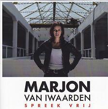 Marjon van Iwaarden-Spreek Vrij Promo cd single