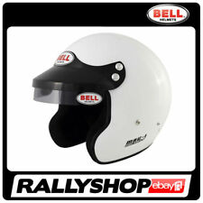 Bell Helmet Mag-1 Size S 57-58 Cm White Open Face Rally Composite FIA Snell