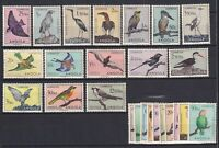 Portuguese Colonies in Angola ,Sc#333-356,CV $300,Animals, Birds, Set, MNH/MLH