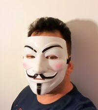 2 X Guy Fawkes Anonymous masques Hacker V Pour Vendetta Halloween Déguisements