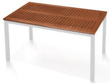 ERSATZ TISCHPLATTE 150 x 90cm für Gartentisch Eukalyptusholz Holztischplatte ~cf