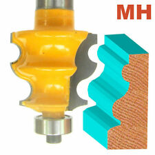 "1 pc 1/2"" Shank  Architectural Specialty  Molding H Router Bit  sct-888"
