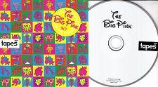 BIG PINK Tapes UK numbered promo test CD XX Gang Gang