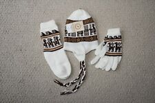 New Sweater, hat,sock and gloves Set - Alpaca Wool Peru Artisan Handcrafted