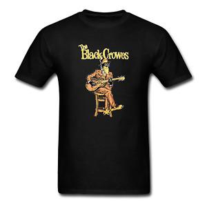 THE BLACK CROWES Short Sleeve Cotton Black Unisex S-5XL T-Shirt #146