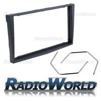 Black Vauxhall Corsa D Astra H Zafira B Stereo Radio Fascia Double Din & Keys